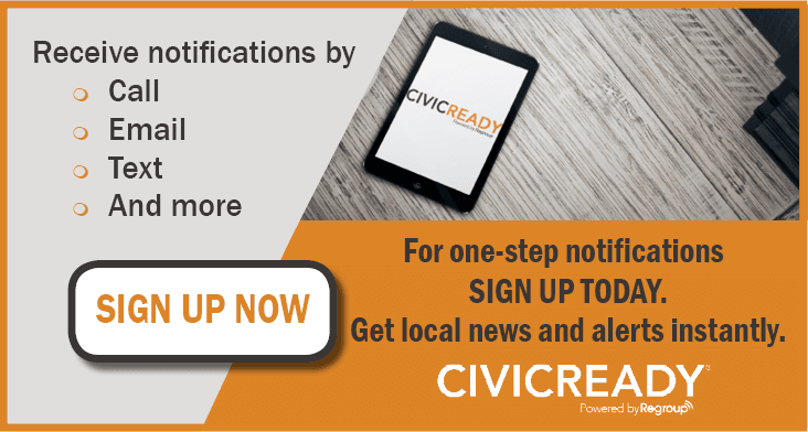 SignUp Civic Ready Mass Notification Image